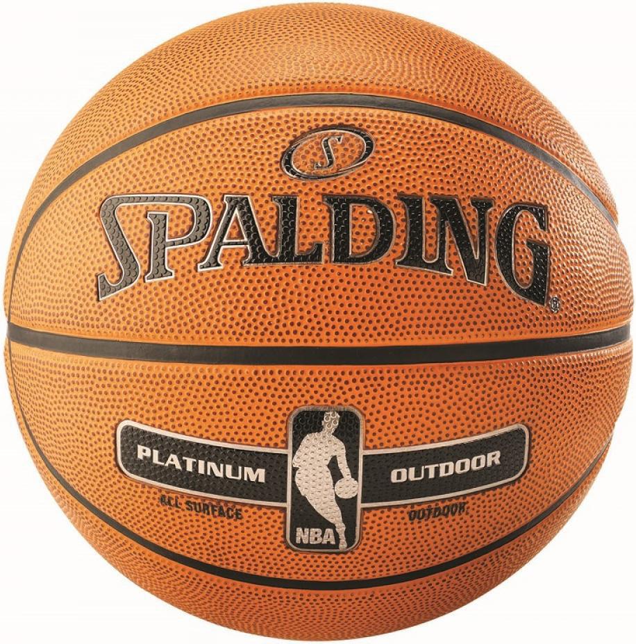 Мяч баскетбольный Spalding NBA Platinum Outdoor Size 7