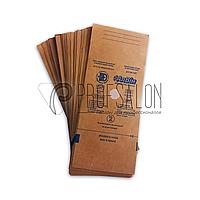 Крафт пакеты для стерилизации 75х150 Алвин для мелких инструментов, для паровой, воздушной, этилен. 100 шт