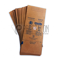 Крафт пакеты для стерилизации 100х200 Алвин, с индикаторами паровой, воздушной, этиленоксидной 100 шт