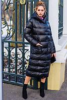 Женское зимнее пальто, одеяло-пуховик (на биопухе - не сбивается при стирке))