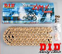 Мото цепь DID 520ZVM-X G&G 124link