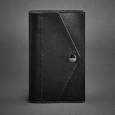 Кожаный блокнот (Софт-бук) 2.0 черный, фото 3