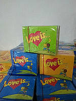 "Жевательная резинка ""Love is..."" 100шт"