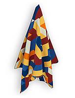 Полотенце пляжное из микрофибры Emmer Geo blue 90*140