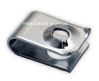 Металлическая монтажная закладная пластина для крепления подкрылок Honda авто/мото 90308-Sb2-013, 90308Sb2013