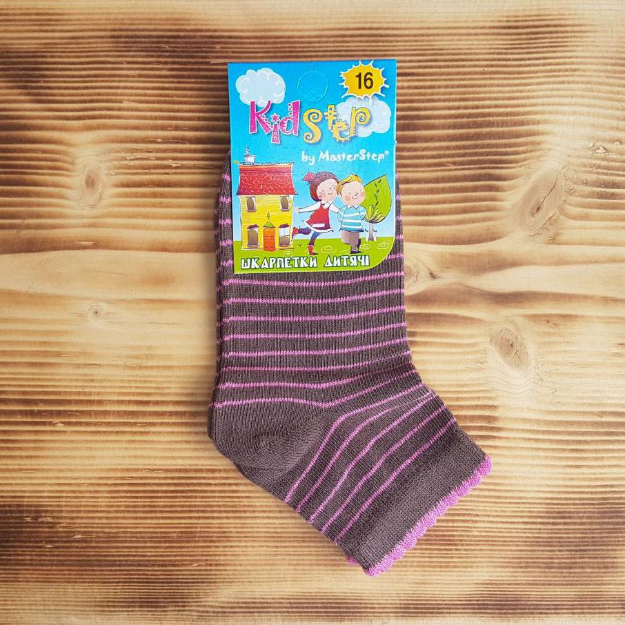 """Носочки для девочки """"Полосочка"""", размер 16 / 3-4 года"""
