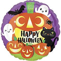 """Фол шар Anagram 18"""" Круг Happy Halloween фестиваль (Анаграм)"""