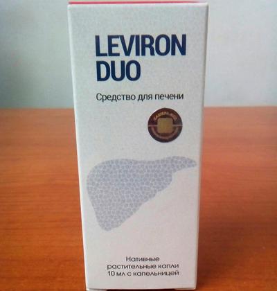 Средство для восстановления и очищения печени Leviron Duo (Левирон Дуо) ViP