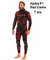 Гидрокостюм Hydra F1 Red Camo 7 мм
