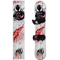 Наклейка на сноуборд Веном