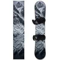 Наклейка на сноуборд Горы