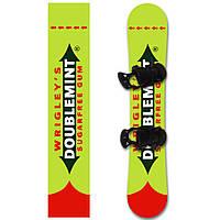 Наклейка на сноуборд Даблминт