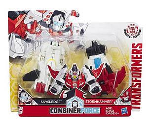 Transformers Робот Трансформер - Скайследж і Стормхаммер (Крэш Комбайнер Skysledge Stormhammer C0631 C0628)