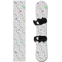 Наклейка на сноуборд Котэ