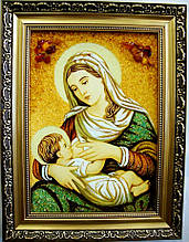Кормящая і-101 Икона Божией Матери Млекопитательница Гранд Презент 20*30