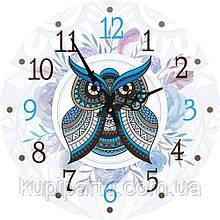 Часы круглые настенные СОВУШКА 60 см d6021