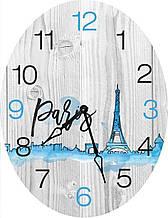 Часы овальные настенные ДАЛЬ 46*60 d466015