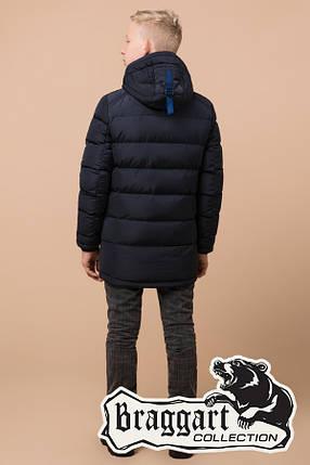 Детская синяя зимняя куртка на мальчика Braggart Kids (р. 34, 36, 38) арт. 60455K, фото 2