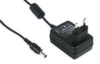 Адаптер живлення Mean Well GS12E24-P1I, 12 Вт, 24 В, 0,5 А роз'єм 2.1х5.5 мм