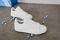 Кроссовки Adidas Stan Smith Triple White, фото 1