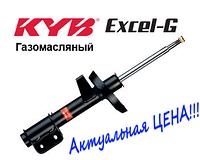 Амортизатор Hyundai Elantra передний левый газомасляный Kayaba 338023