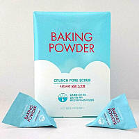 Порционный скраб ETUDE HOUSE Baking Powder Crunch Pore Scrub упаковка