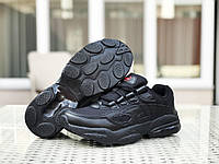 Кроссовки   Cell Venom мужские, черные, в стиле   Веном. Натуральная замша, прошиты. Код SD-8414