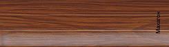 Защитные ролеты  профиль махагон