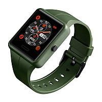 Умные часы  SKMEI  цвета хаки + подарочный бокс.