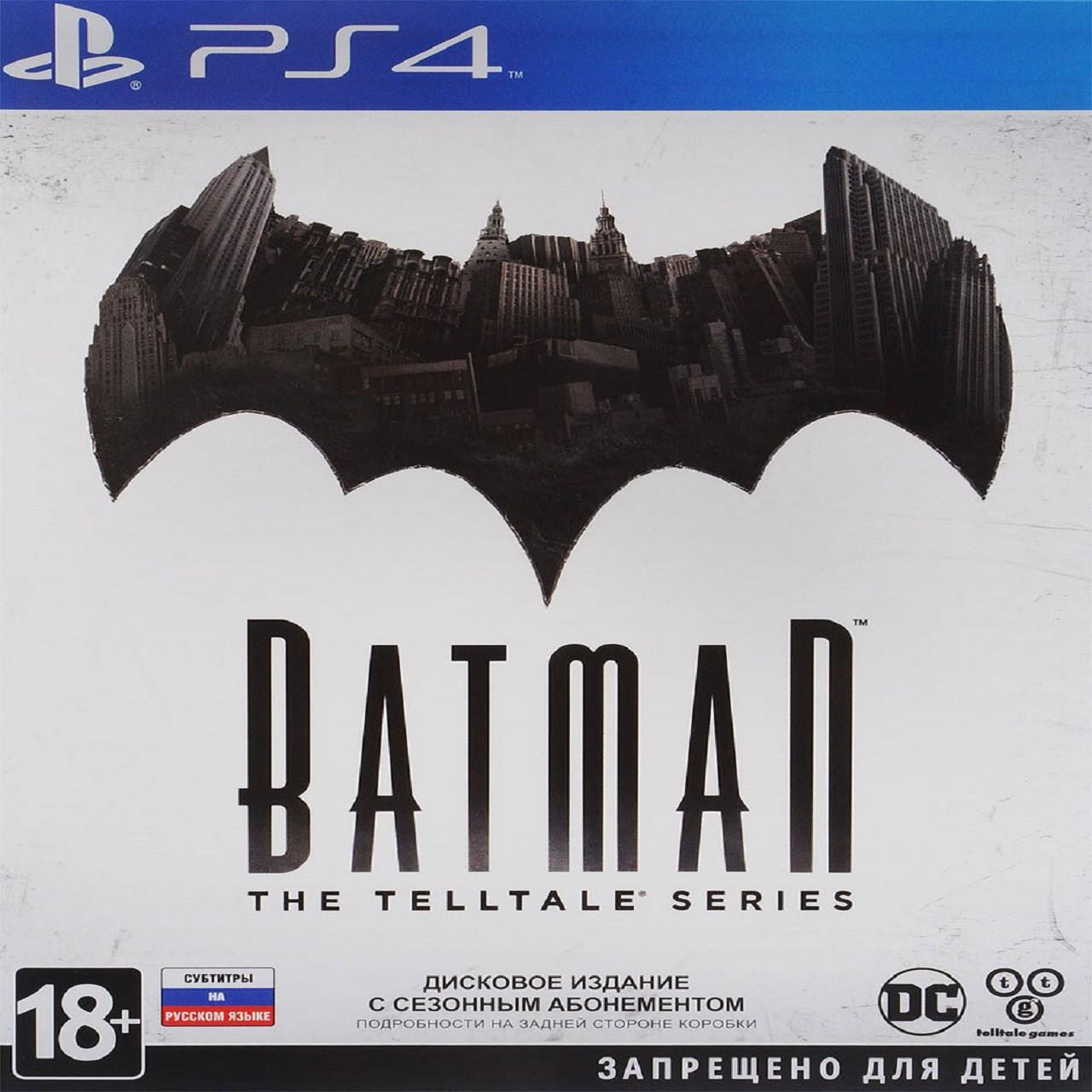 Batman The Telltale Series (російська версія) PS4