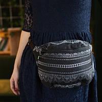 Сумка на пояс LUNA DREAM Diamond Lace Black Elegance