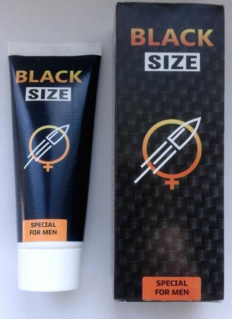 Black Size - Крем-гель для увеличения члена (Блек Сайз) ViP