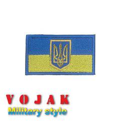 "Шеврон ""Флаг + Герб Украина"""