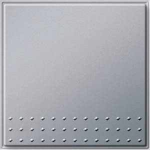 Gira 012665 Клавишный выключатель перекрестный переключатель TX_44 (WG UP) алюминий