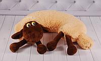 """Детская подушка-подголовник """"Овечка"""", подушка под голову, подушка для путешествий"""