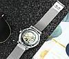 Механические часы Forsining Skeleton (silver) - гарантия 12 месяцев, фото 6