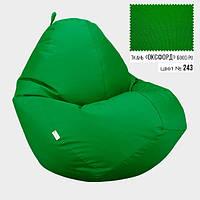 Кресло мешок Овал Оксфорд Стронг 90*130 см Цвет Трава