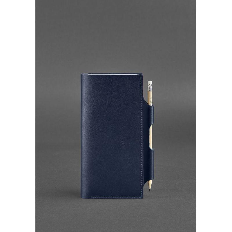 Кожаный тревел-кейс 3.0 Темно-синий