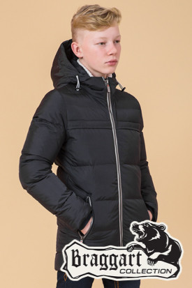 Стильная детская зимняя куртка Braggart Kids (р. 34, 36, 38, 40) арт. 65122L