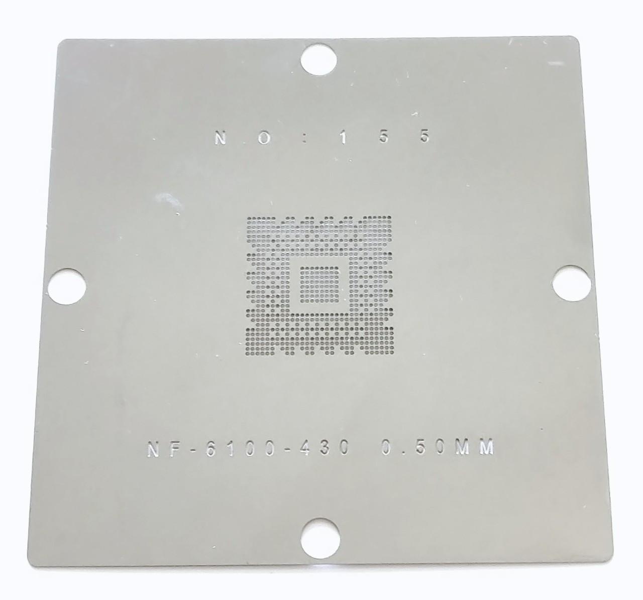 Трафарет BGA NF-6100-430-N-A3, NF-6100-405-N-A2, NF-6100-430-N-A2. Шар 0,5 мм