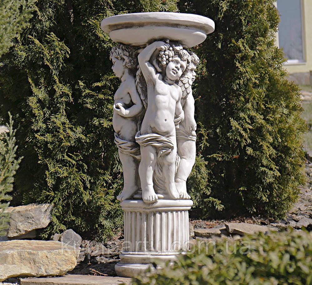 Садовая скульптура Три Ангела 34.5X34.5X75.5cm SS12075-58
