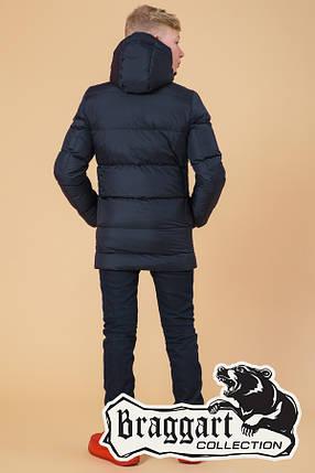 Зимняя куртка на мальчика 7-12 лет Braggart Kids (р. 34, 36, 38, 40) арт. 65122N, фото 2