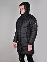 Мужская длинная куртка Dizzy с капюшоном осень-зима