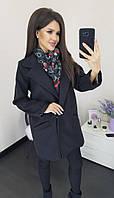 Женское стильное осеннее пальто, фото 1
