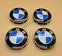 Колпачок ступицы колеса BMW 36136783536 Колпачек в диск БМВ, фото 2