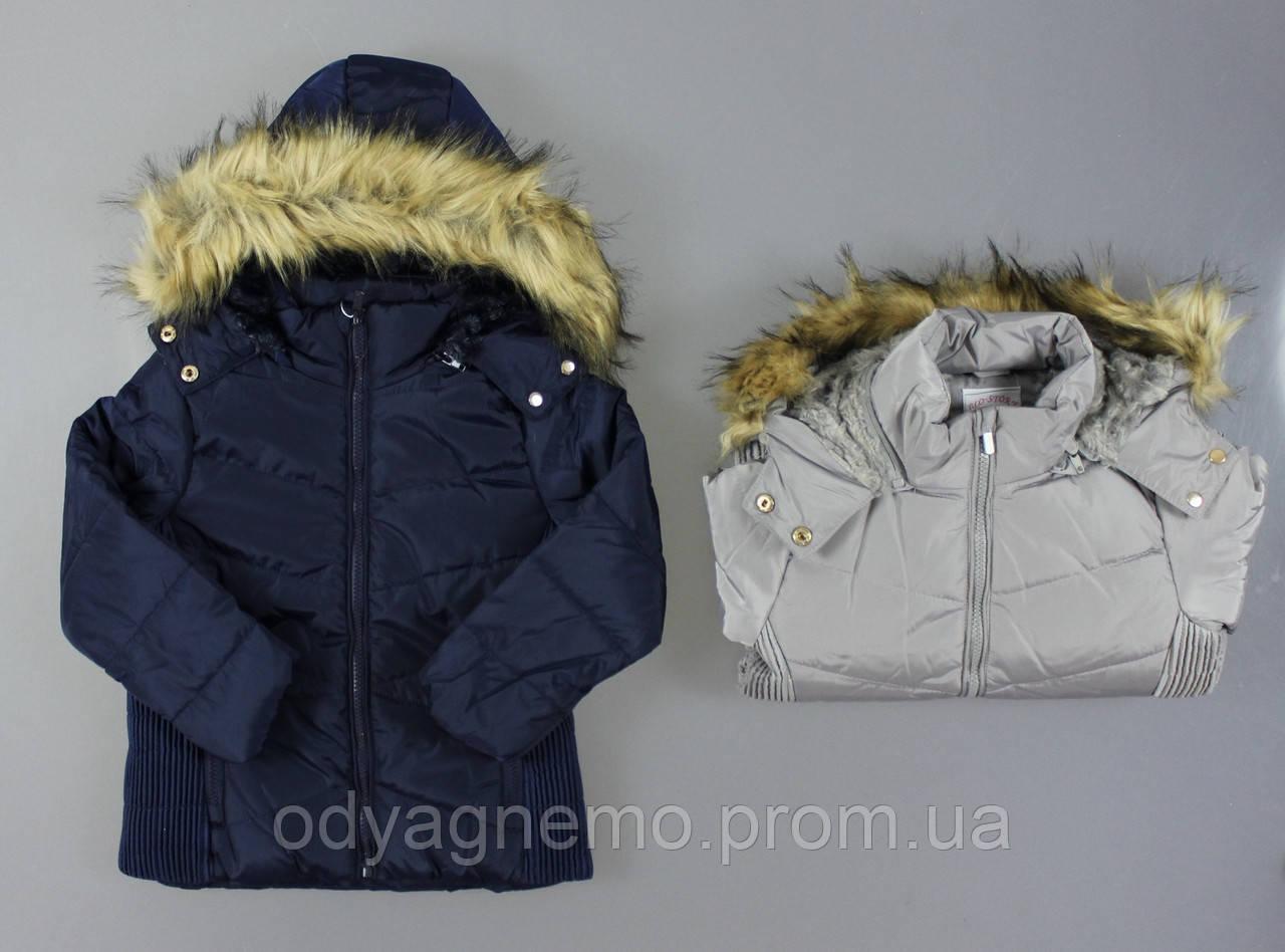 Курточка на меху для девочек Glo-Story оптом, 92/98-128 рр.