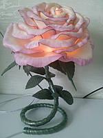 Светильник цветок из изолона, цветы из изолона