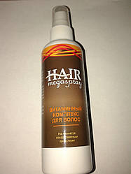 HAIR MEGASPRAY - Витаминный комплекс для волос ViP