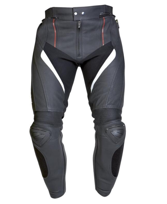 Мотоштаны кожаные Ozone Grip (Black)