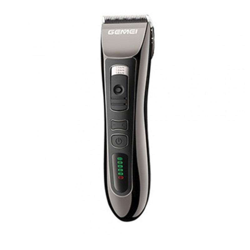 Профессиональная машинка для стрижки волос Gemei GM-820 со встроенным аккумулятором